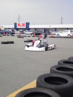 レンタルカートコースオープン3日目